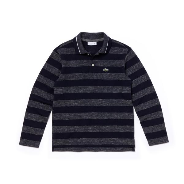 Lacoste Kids' Long Sleeve Polo