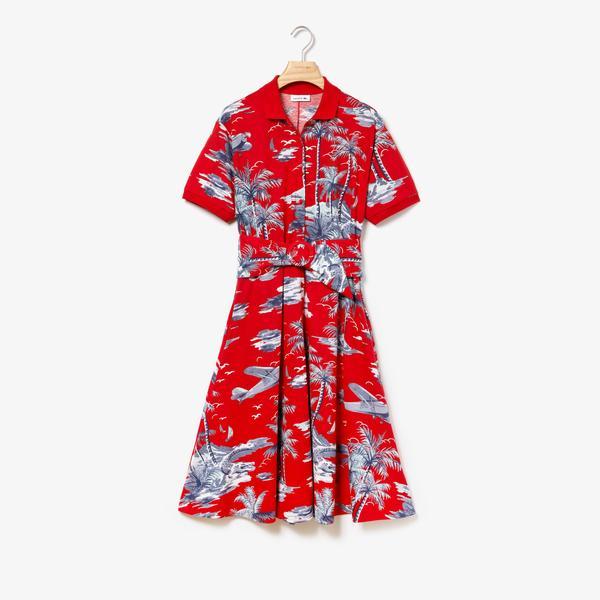 Lacoste Women's Polo Neck Dress