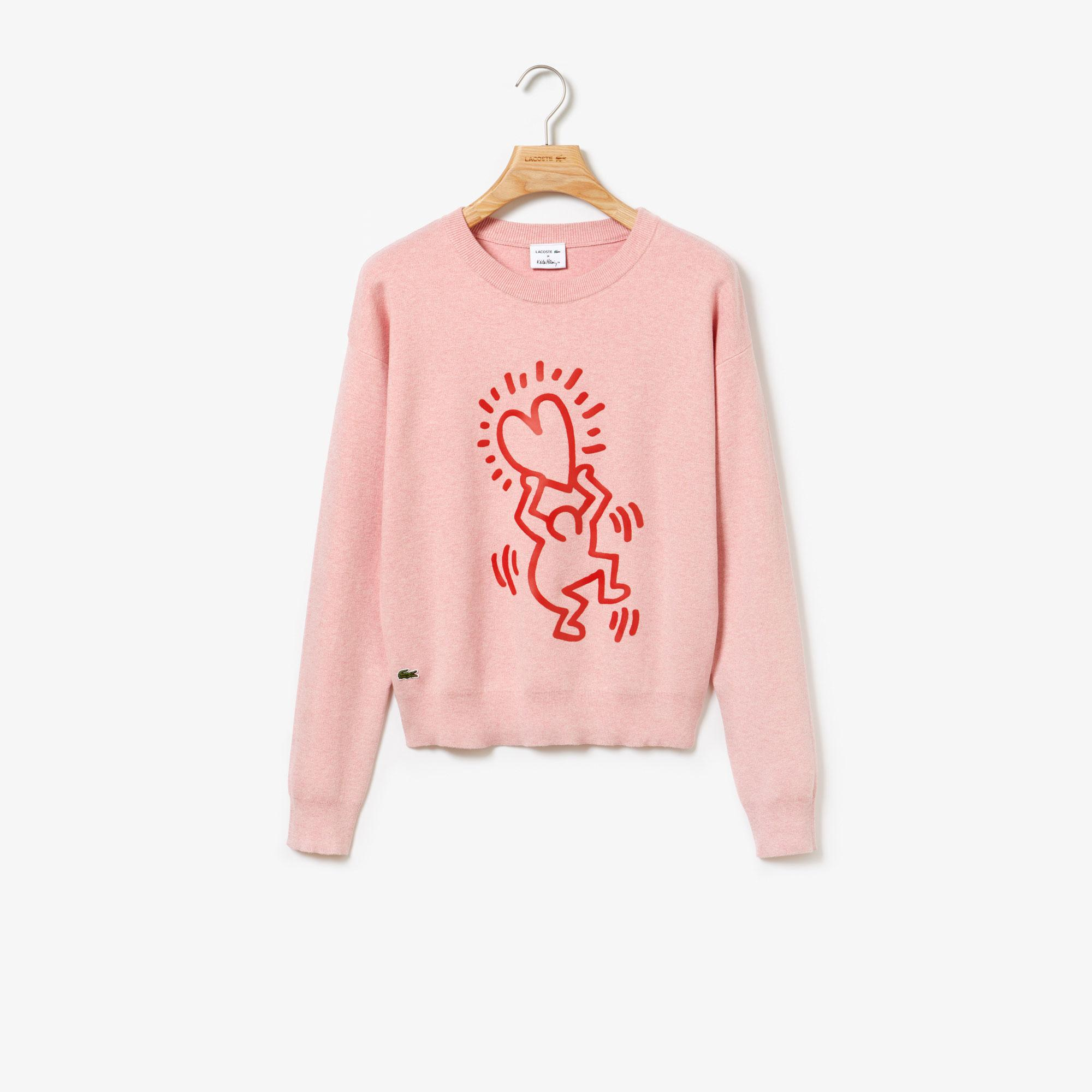 Lacoste светр жіночий X Keith Haring