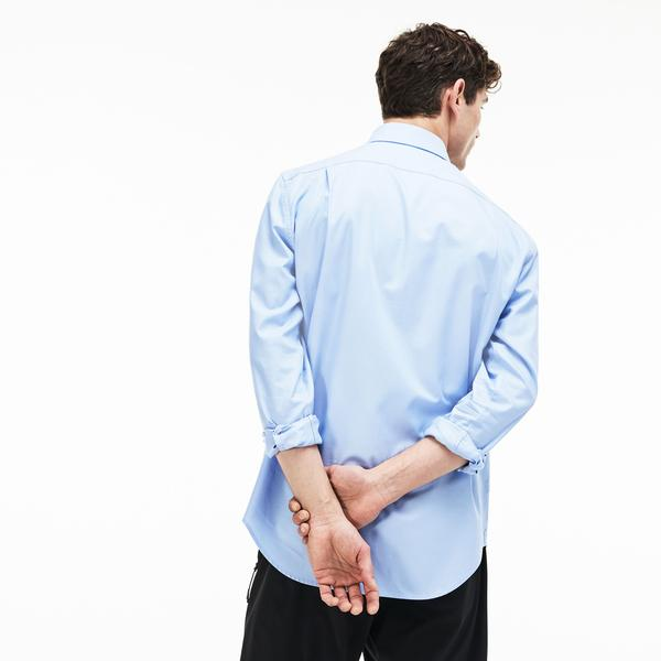 Lacoste Men's Regular Fit Cotton Mini Piqué Shirt