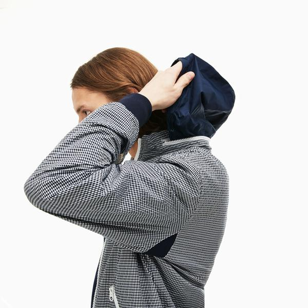 Lacoste Men's Seersucker Coat