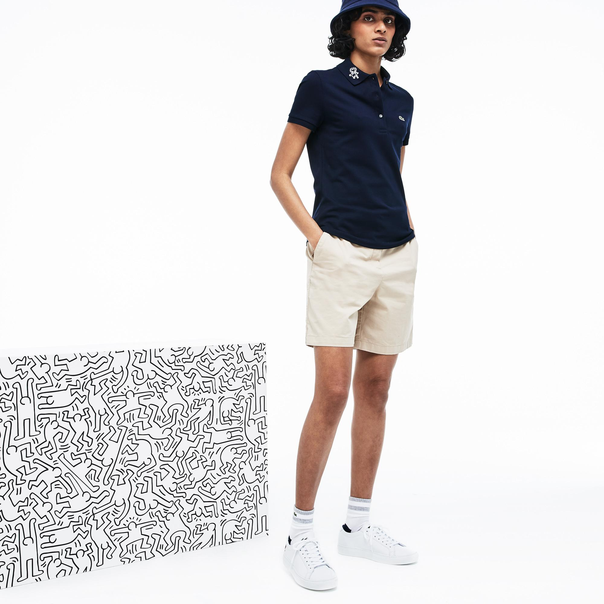 Lacoste поло жіноче x Keith Haring