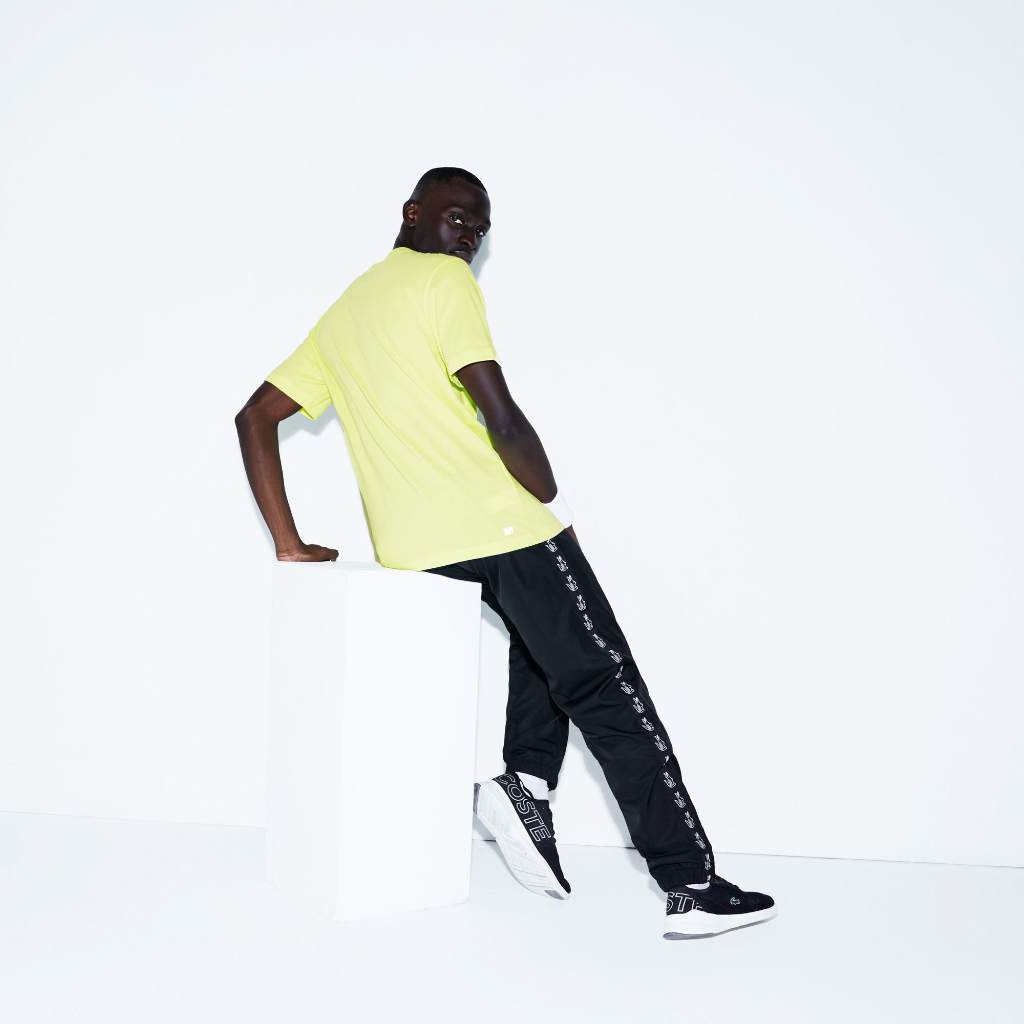 Lacoste футболка чоловіча SPORT з круглим вирізом