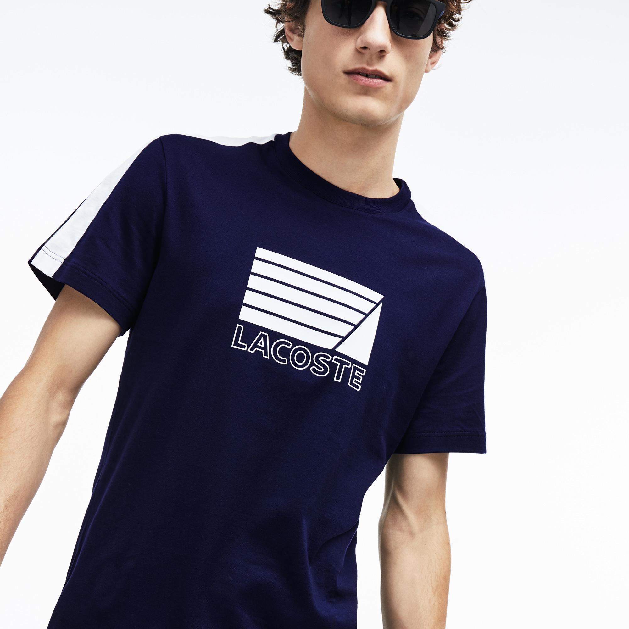 Lacoste футболка чоловіча з круглим вирізом