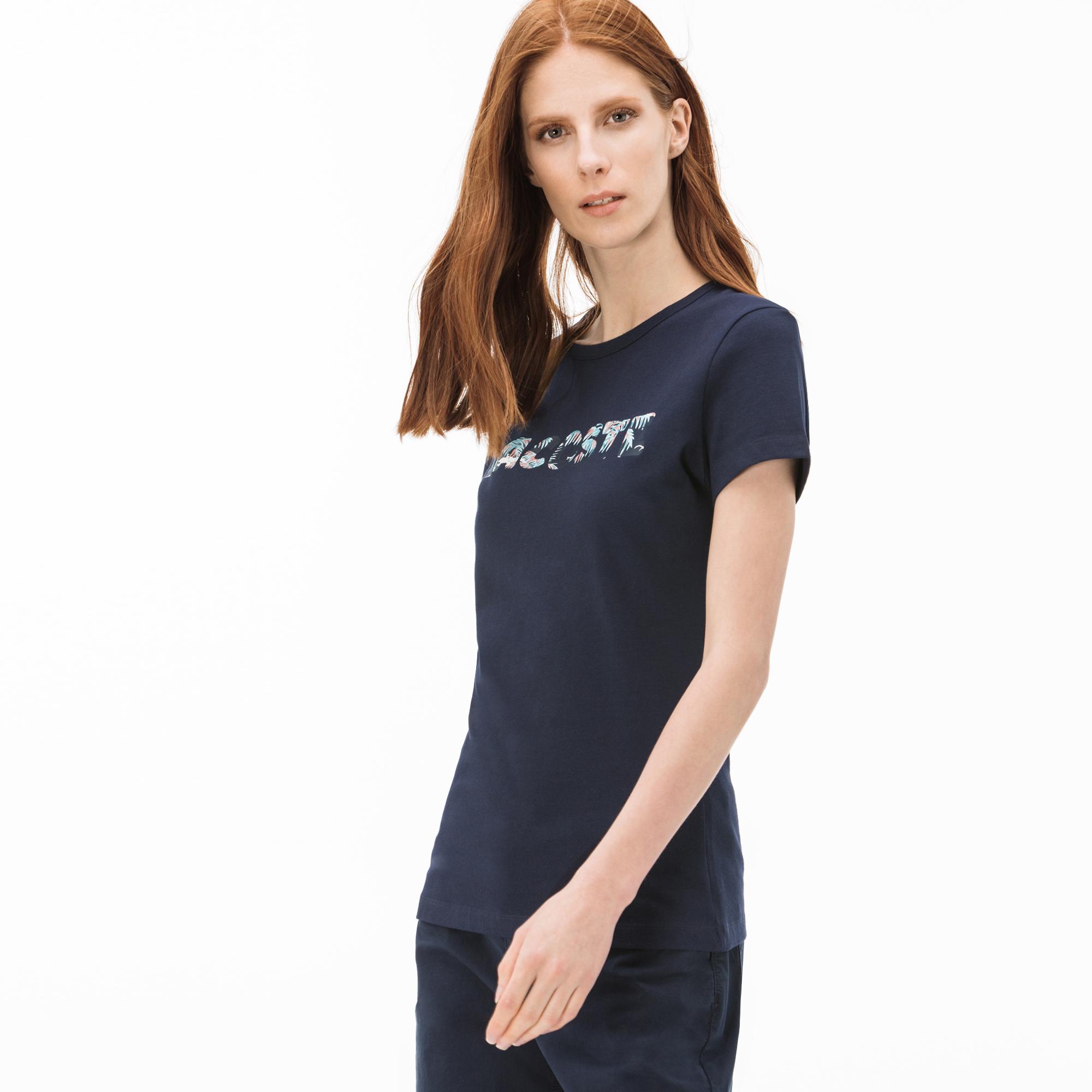 Lacoste футболка жіноча з круглим вирізом
