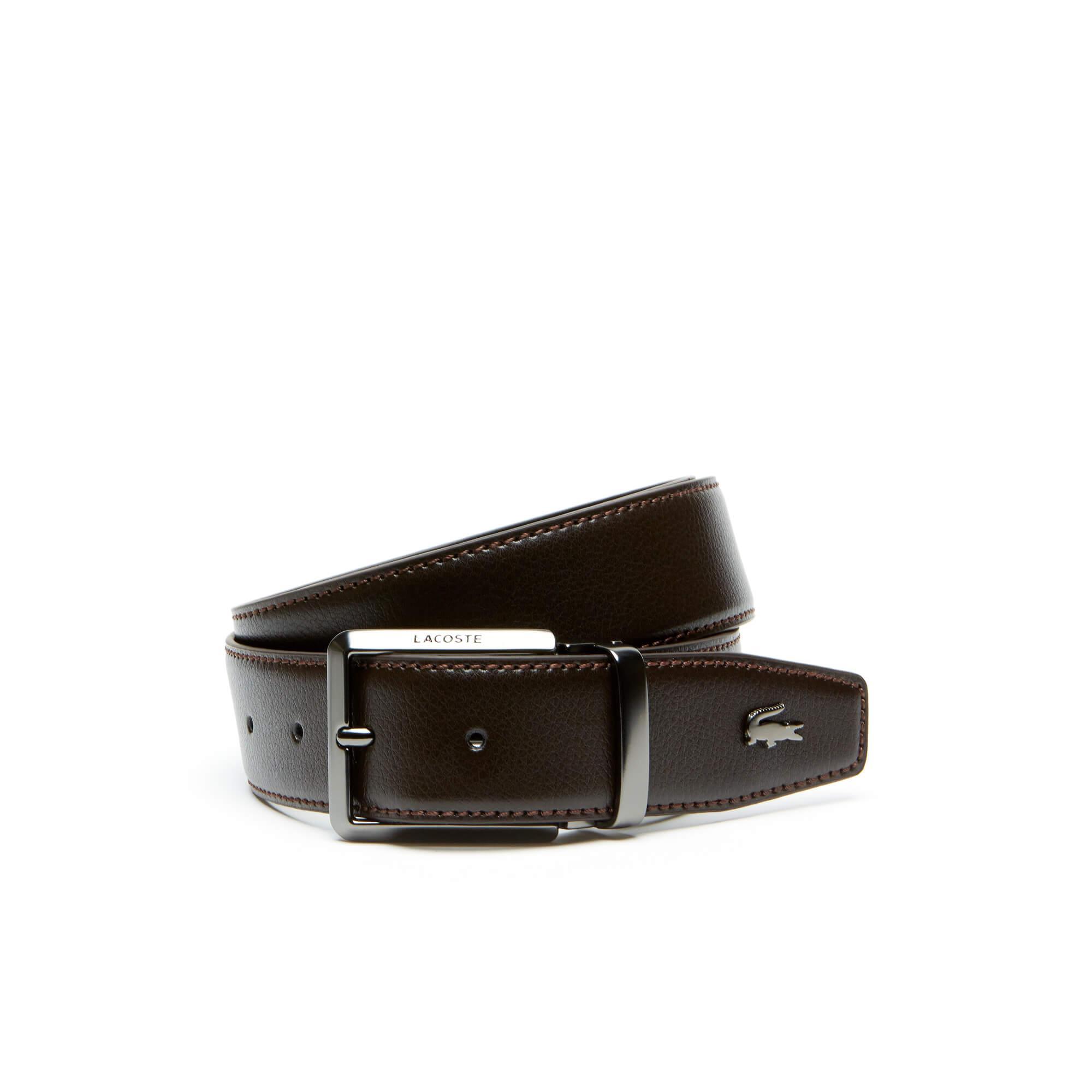 Lacoste Men's Leather Belt