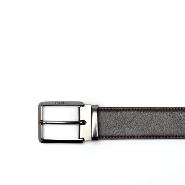 Lacoste Men's Leather Belt