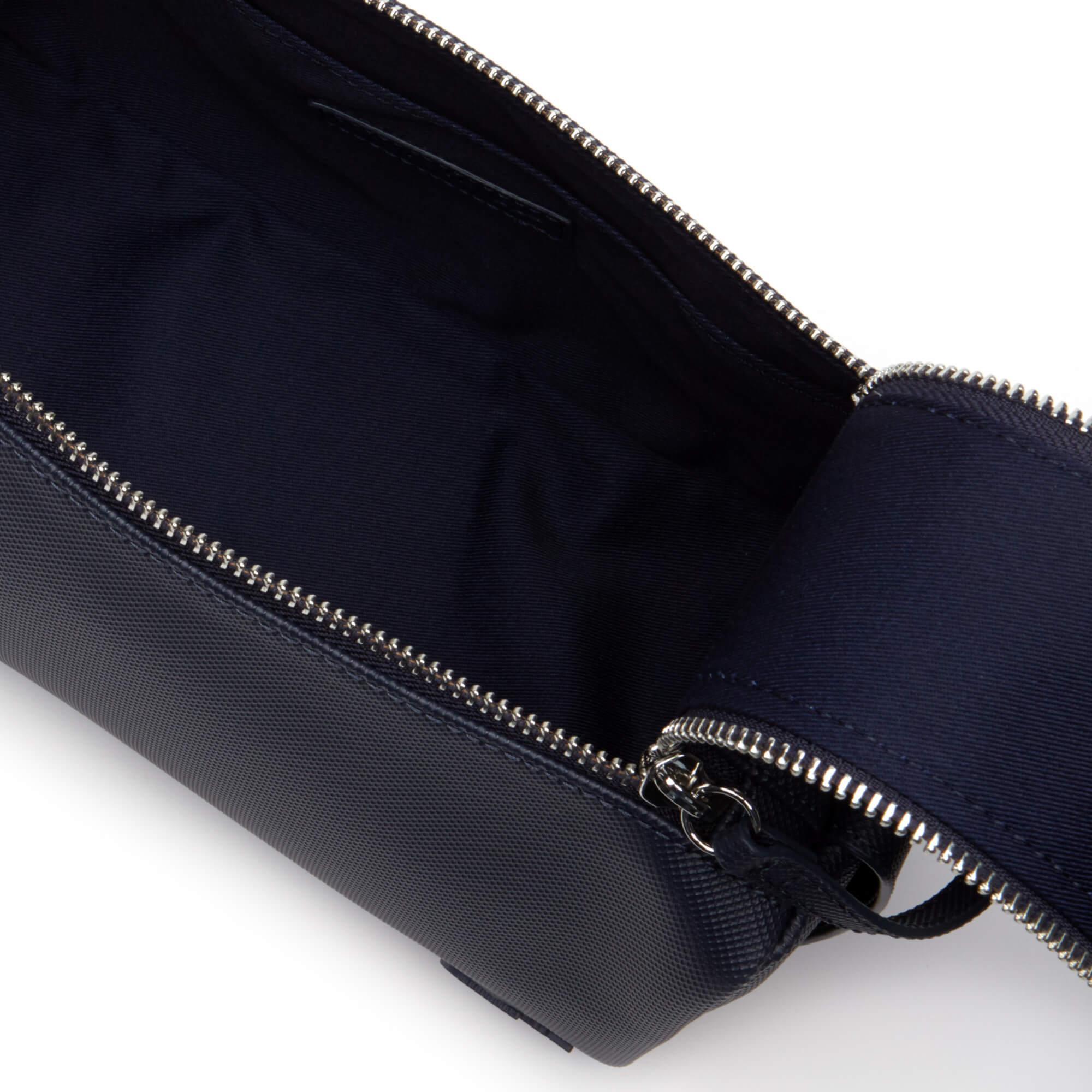 Lacoste Men's Classic Double Zip Petit Piqué Toilet Kit