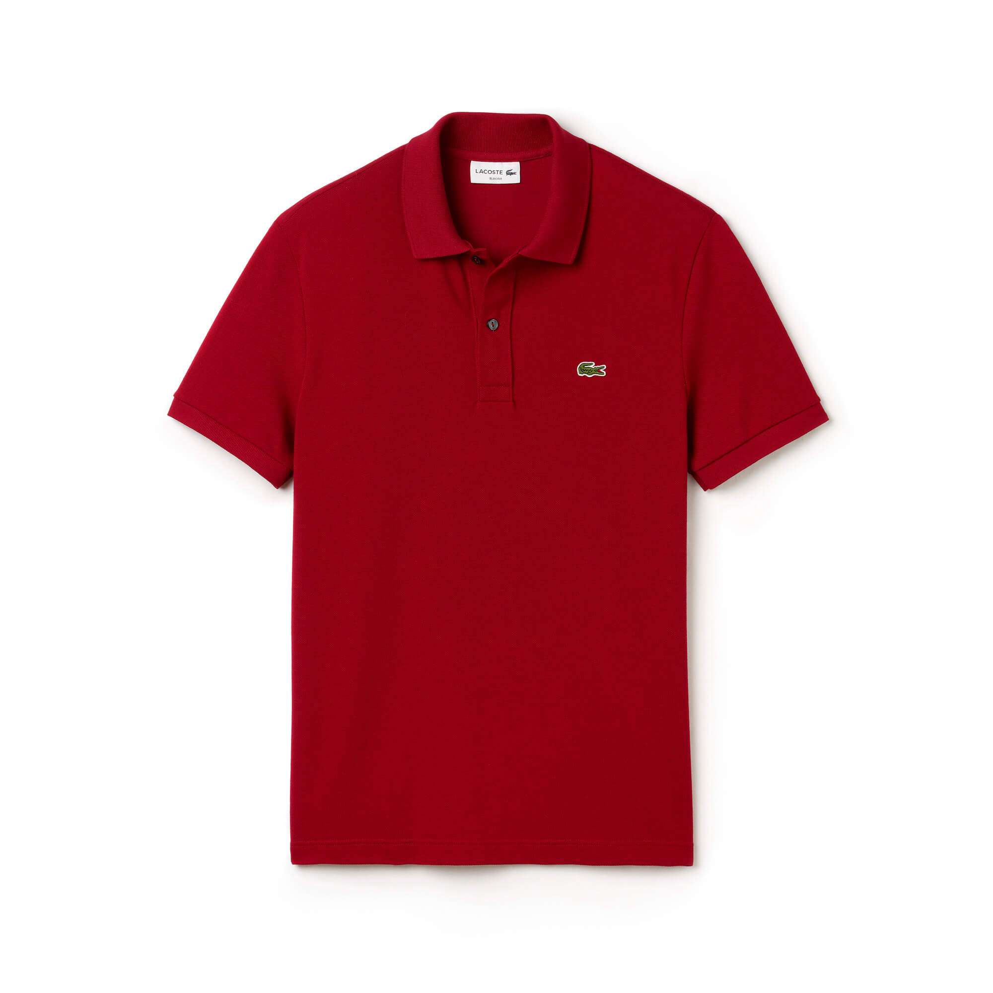 Lacoste Men's Slim Fit Lacoste Polo Shirt in Petit Piqué