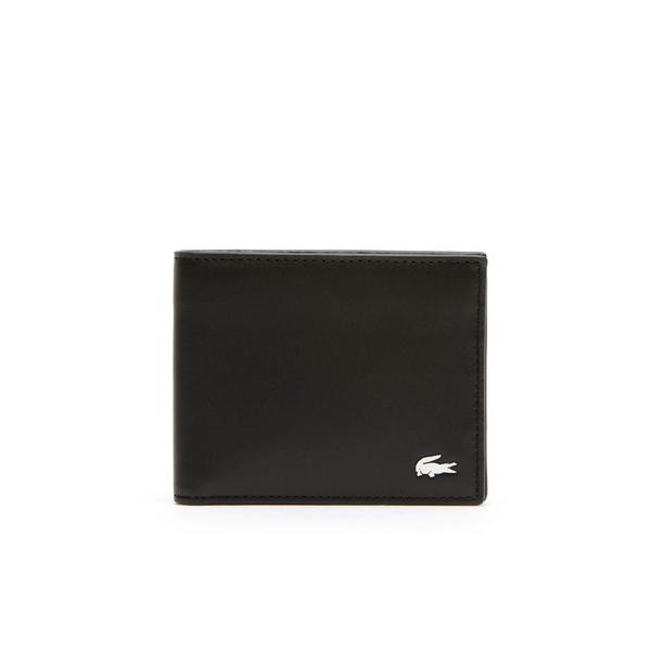 Lacoste Men's Fitzgerald Leather Six Card Wallet