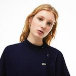 Lacoste Women's Kimono Sleeve Stretch Mini Piqué Polo