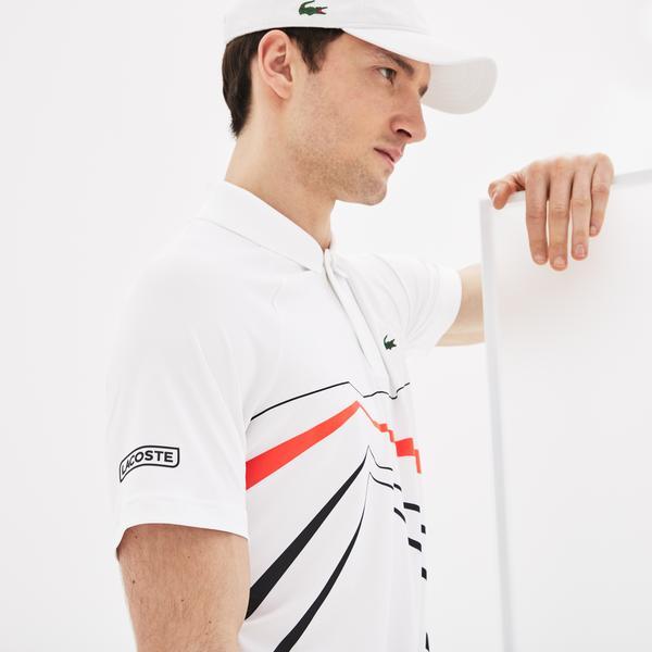 Lacoste Men's Sport Novak Djokovic Stretch Polo