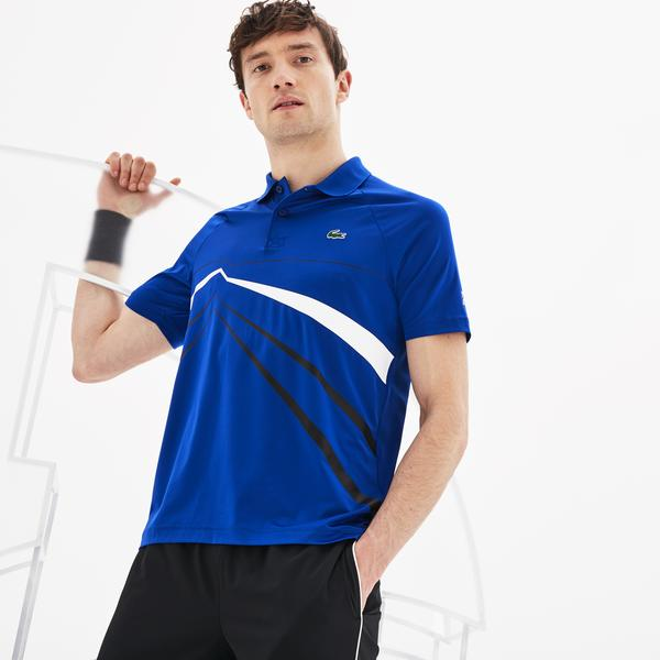 Lacoste Men's Sport Novak Djokovic Stretch Polo