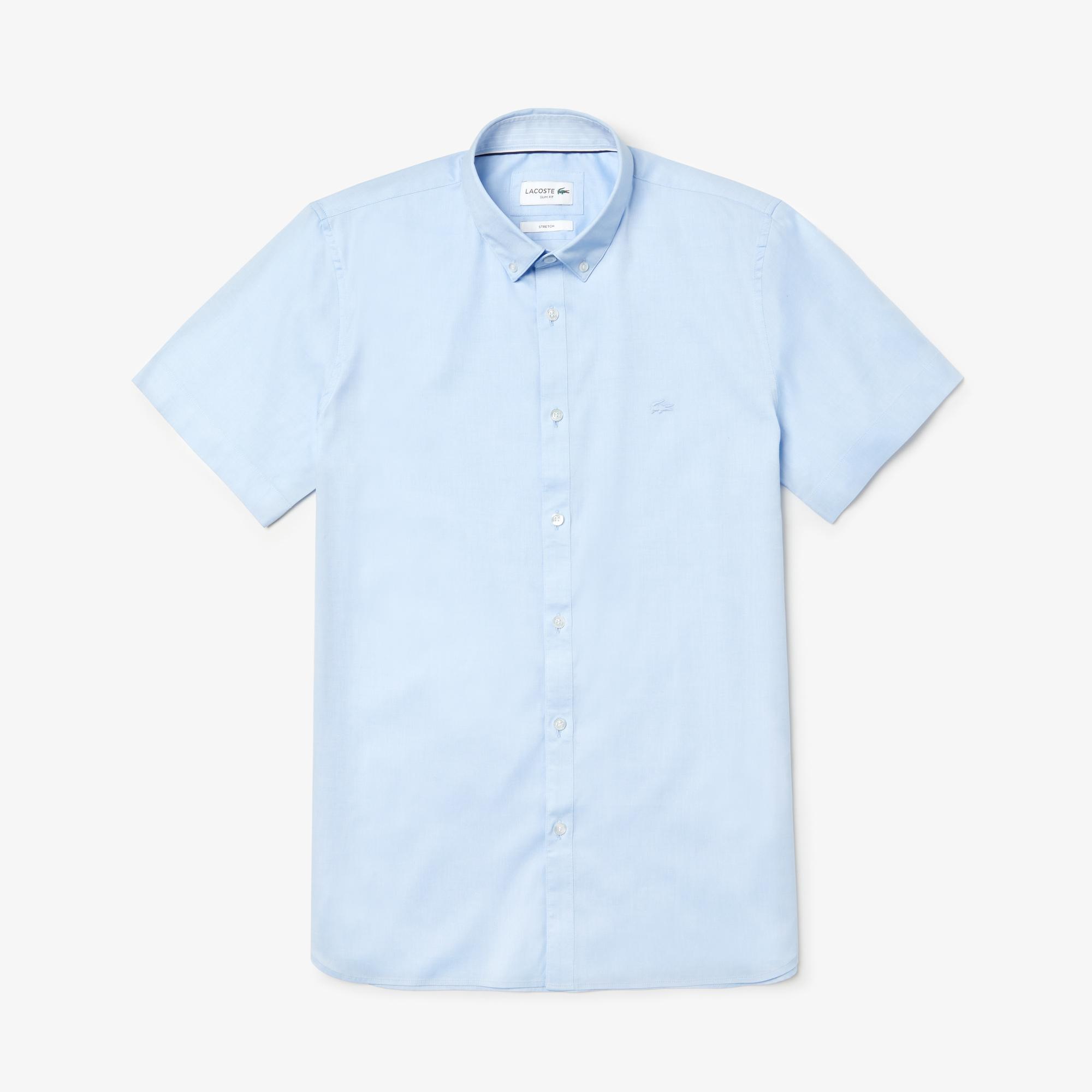 Lacoste Men's Short Sleeve Wovens Shirt