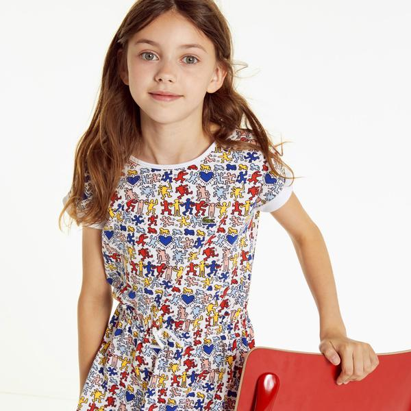 Lacoste X Keith Haring Girl's Dress