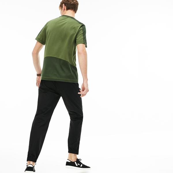 Lacoste Men's Motion Relaxed Fit Water-Resistant Chino Pants