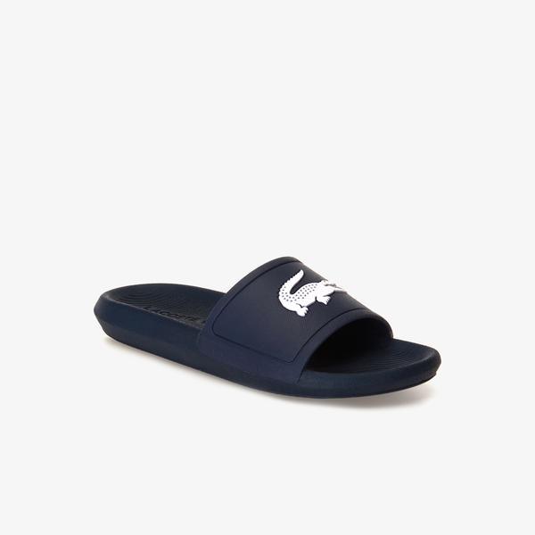 Lacoste Women's Croco Slide Slippers