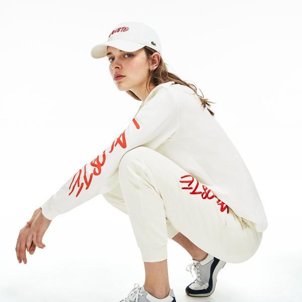 Lacoste L!VE Unisex Signature Print Cotton T-Shirt