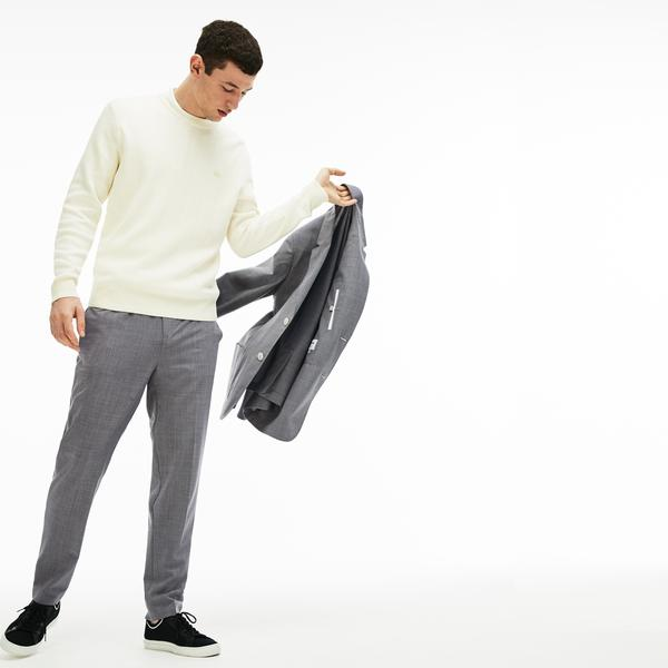 Lacoste Men's Regular Fit Stretch Canvas Pantss