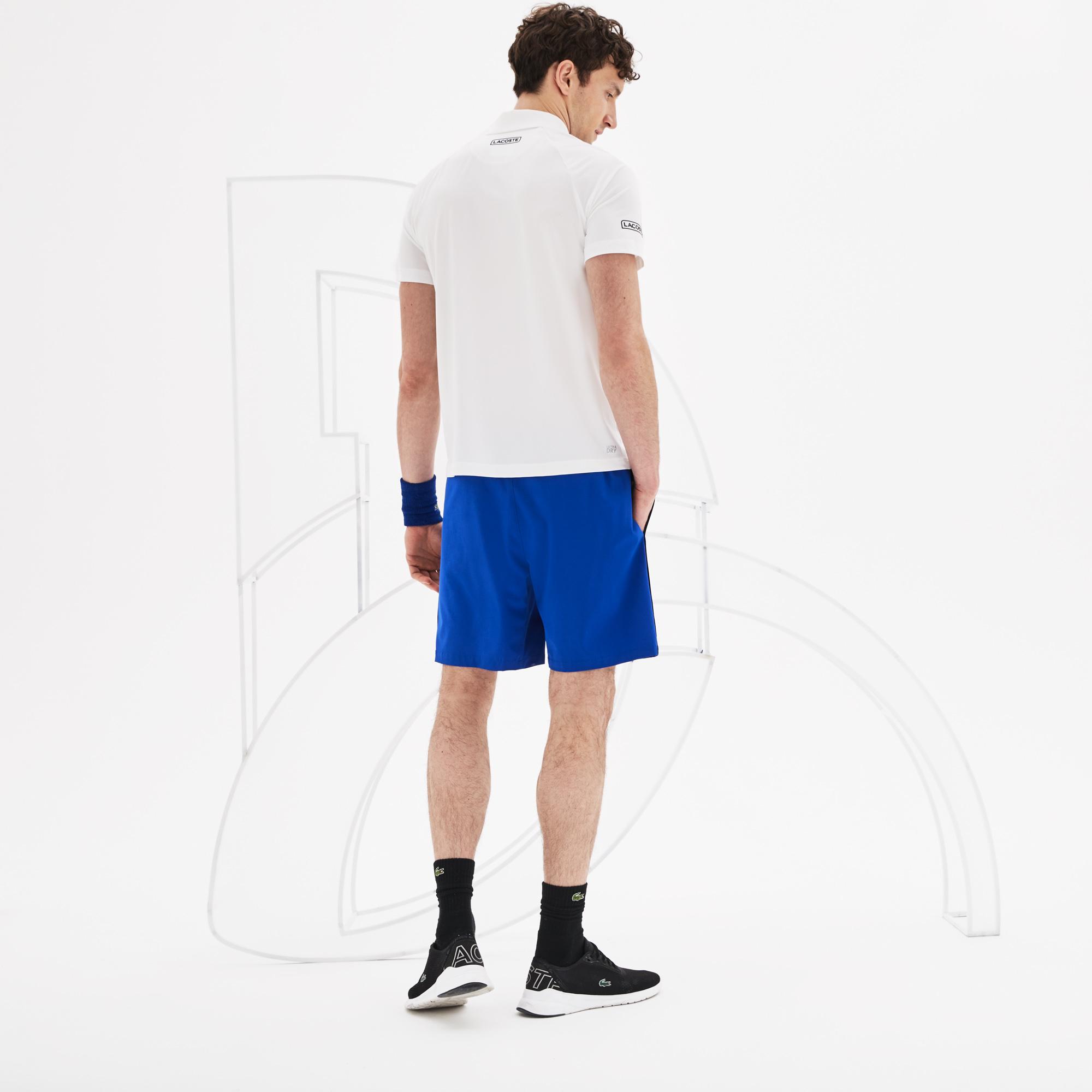 Lacoste Men's Sport Novak Djokovic Jersey Polo