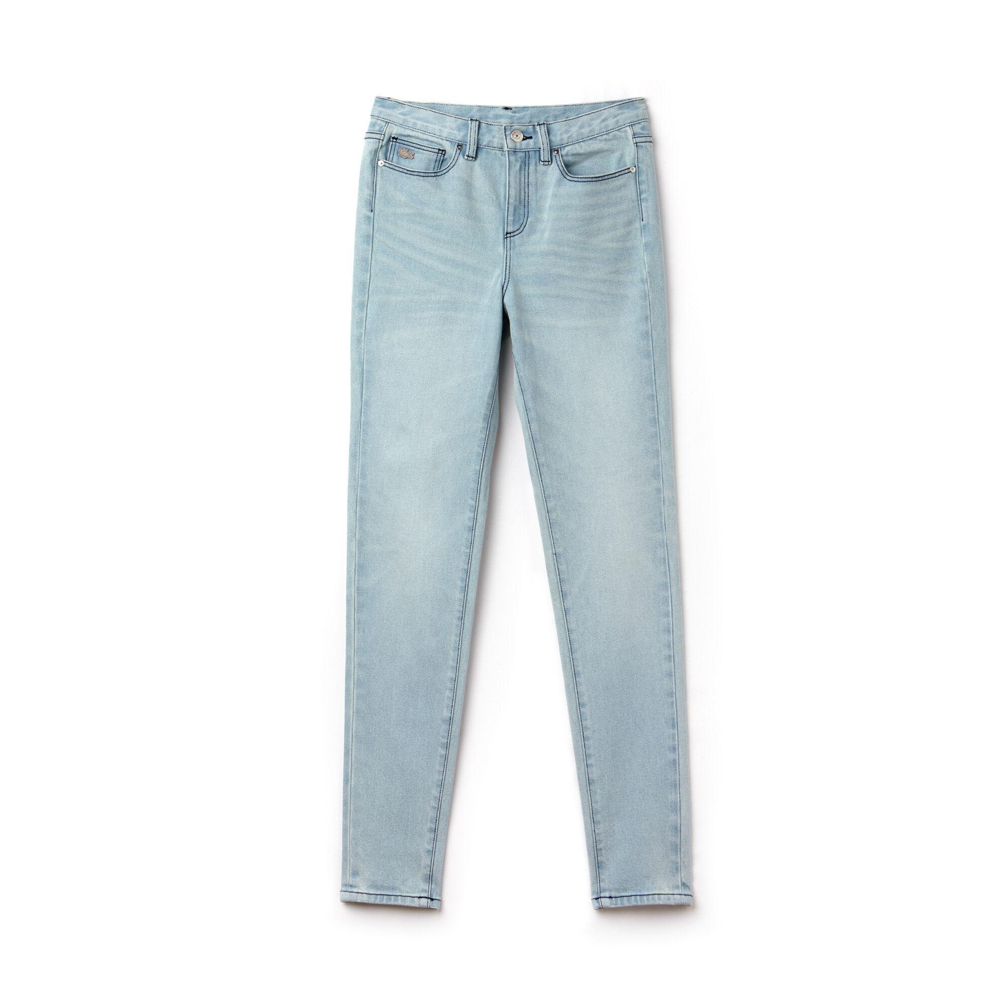 Lacoste L!VE Women's Stretch Denim Jeans
