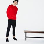 Lacoste Men's SPORT Oversized Croc Brushed Fleece Sweatshirt