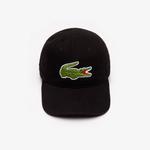 Lacoste Men's Gabardine Cap With Oversized Crocodile