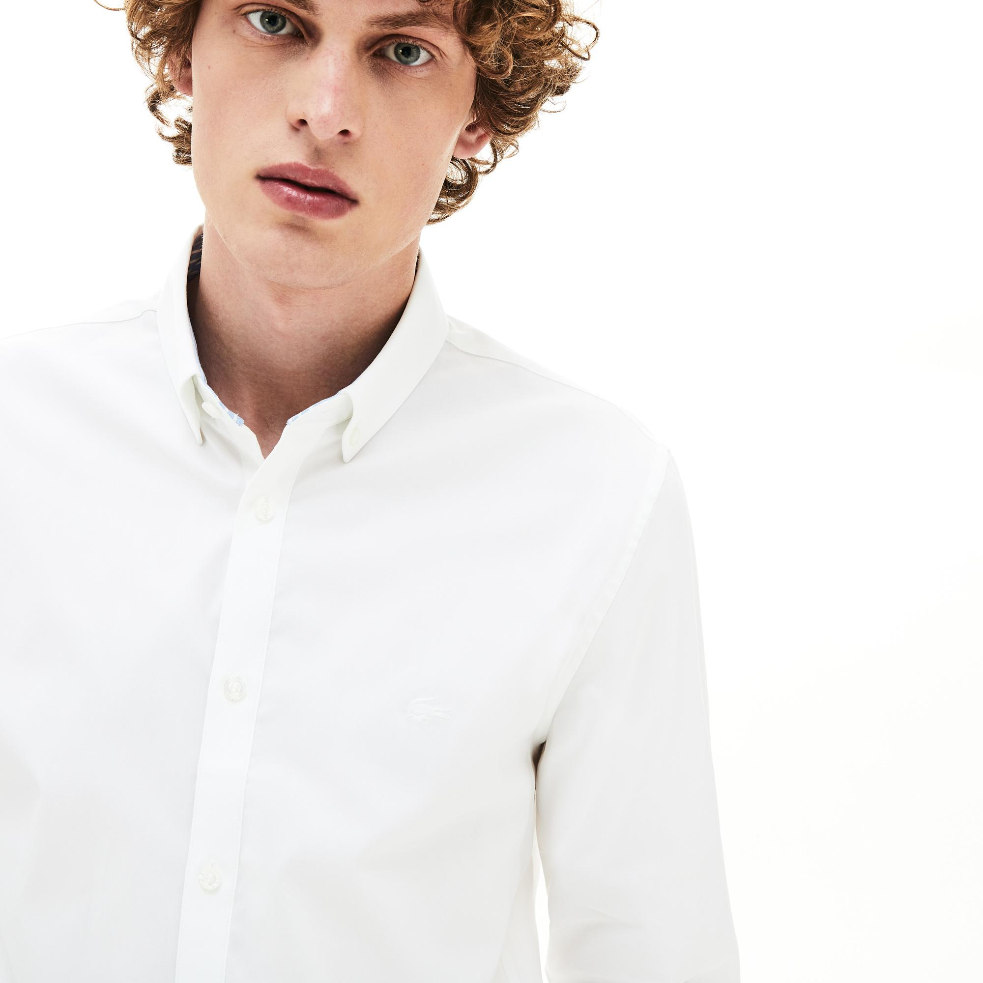 Lacoste Men's Slim Fit Stretch Cotton Shirt
