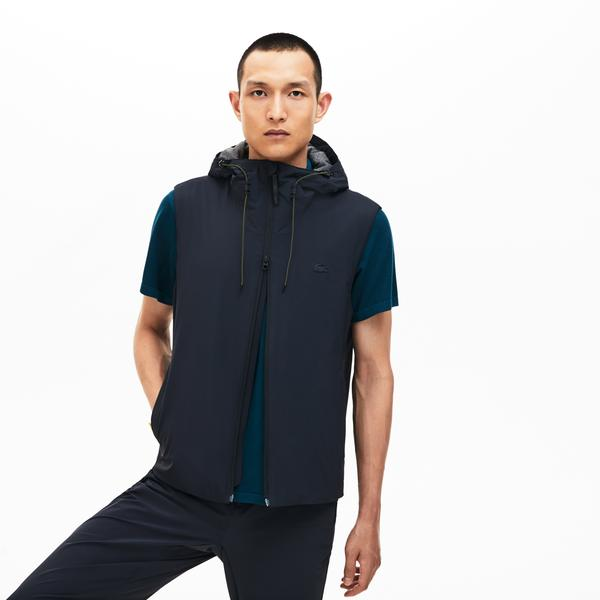 Lacoste Men's Motion Lightweight 3-İn-1 Rain Jacket