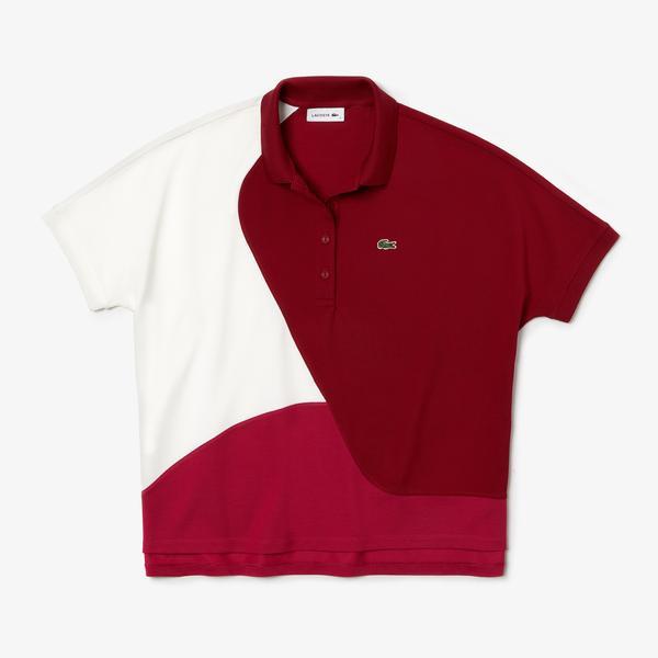 Lacoste Women's Colourblock Thermoregulating Piqué Polo