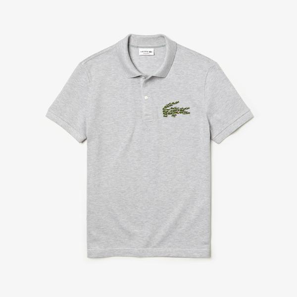 Lacoste Men's Regular Fit Multi Croc Badge Cotton Piqué Polo Shirts