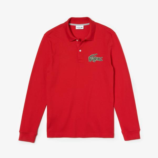 Lacoste Men's Regular Fit Multi Croc Badge Polo