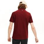 Lacoste Men's Regular Fit Check Croc Badge Piqué Polo Shirt