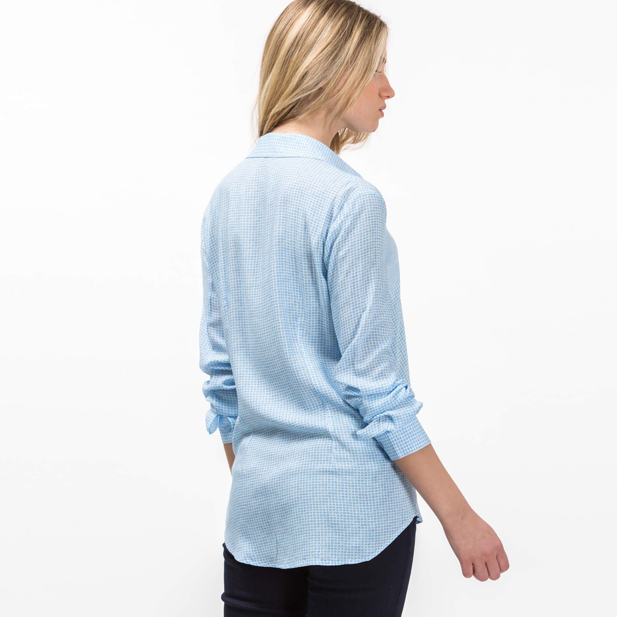 Lacoste Women's Long Sleeve Wovens Shirt