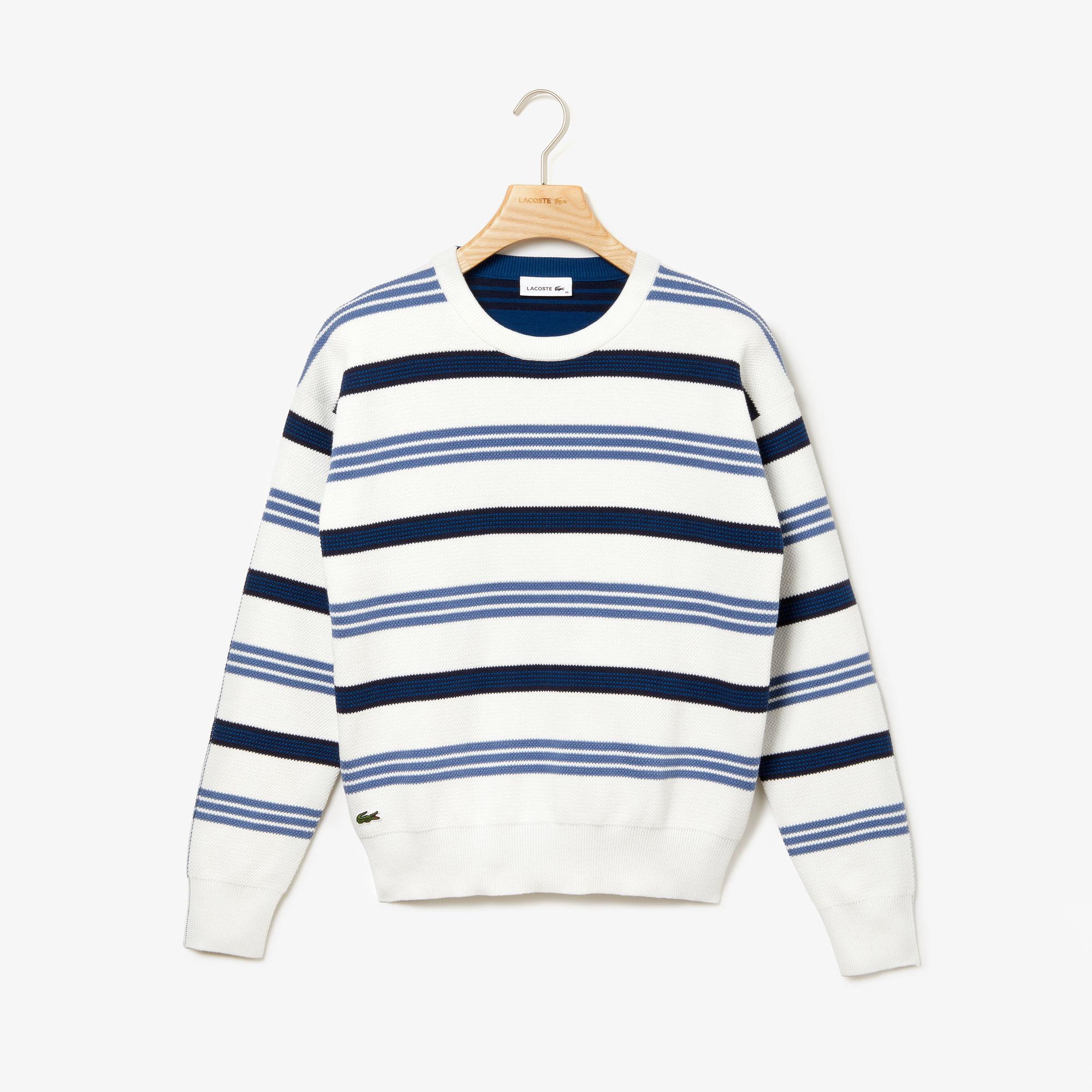 Lacoste светр жіночий з круглим вирізом