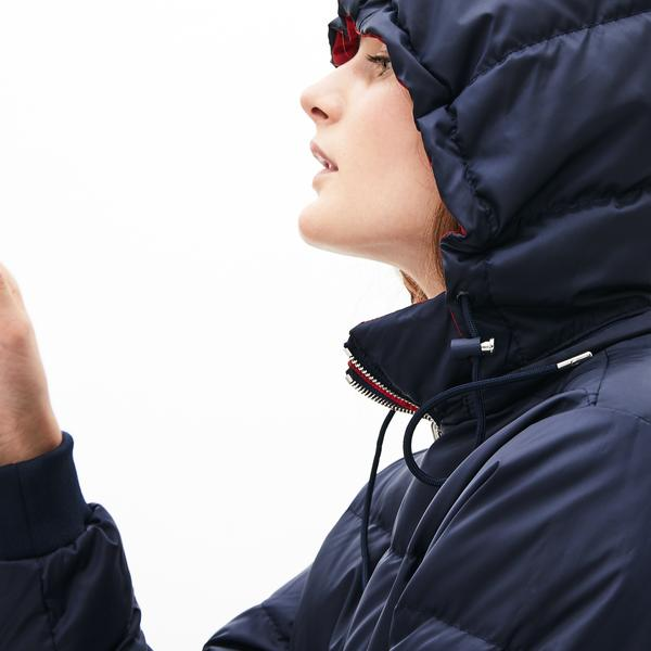 Lacoste куртка жіноча Colorblock водостійка