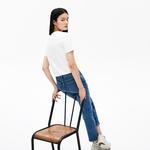 Lacoste футболка жіноча LIVE з круглим вирізом