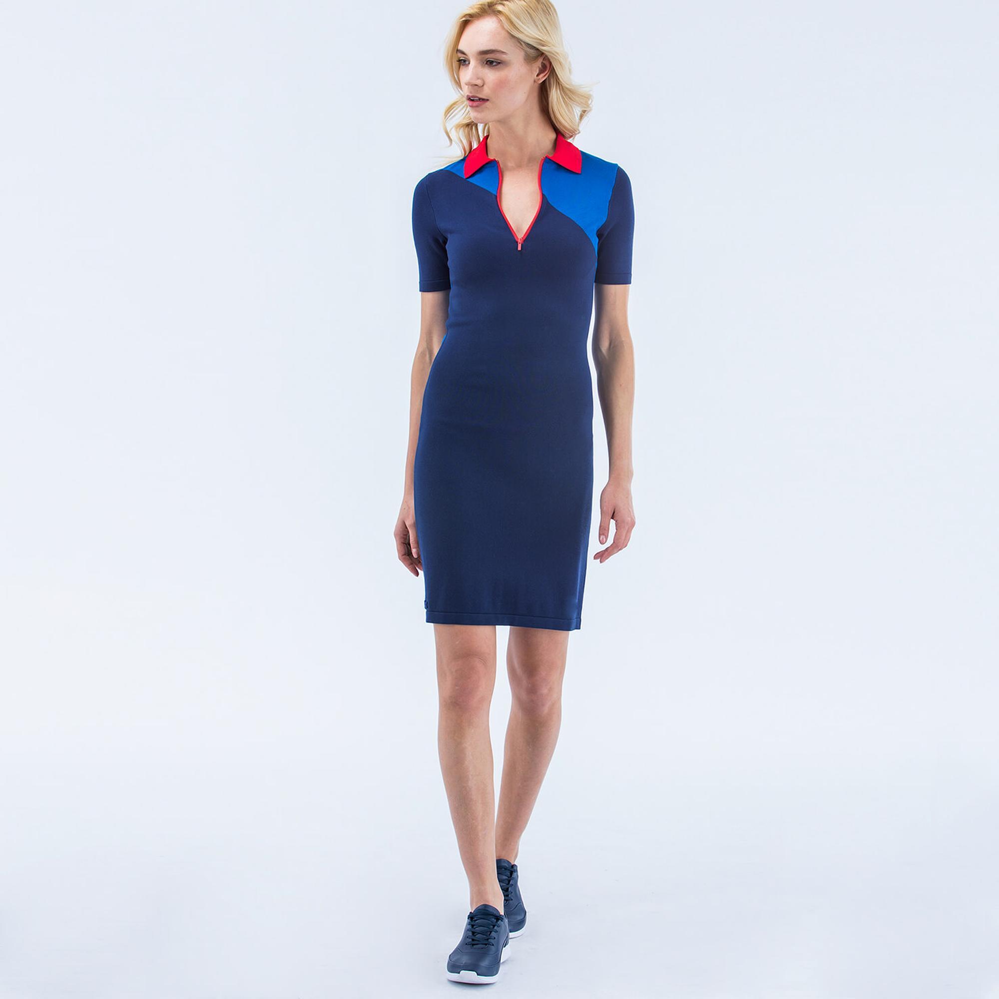 Lacoste сукня жіноча Colorblock