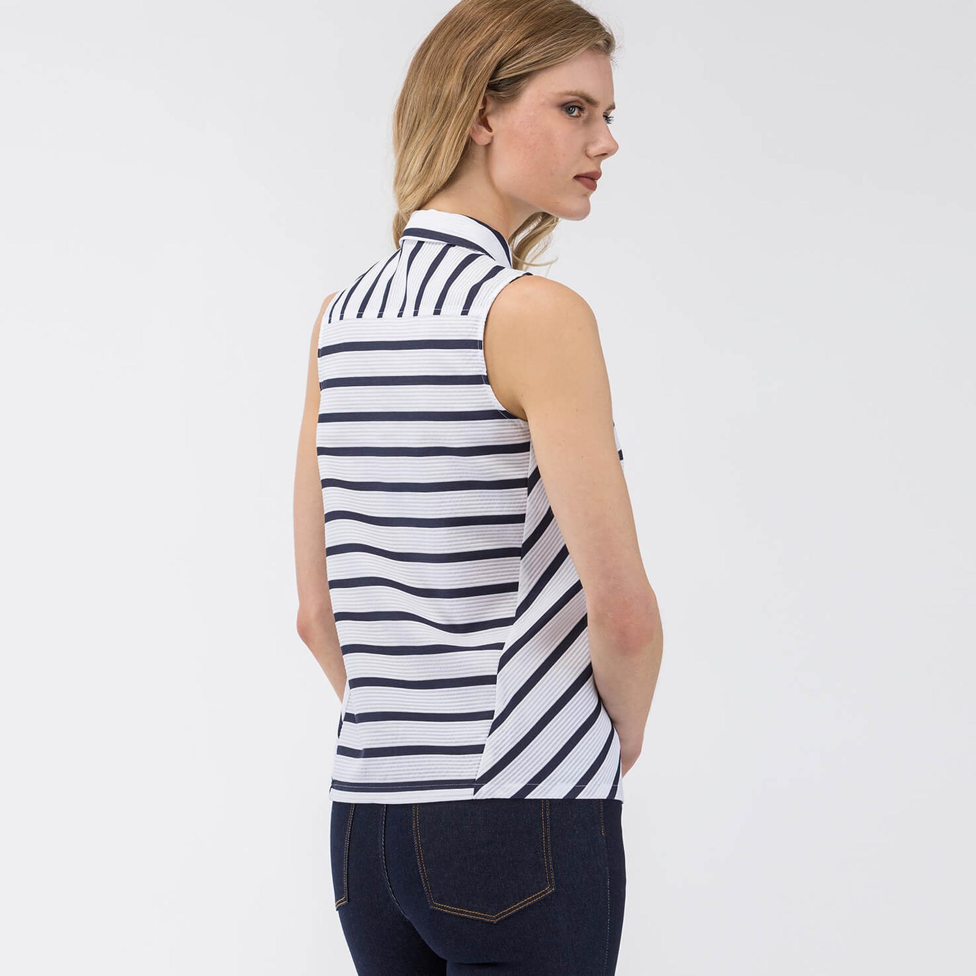 Lacoste L!VE Women's Striped Poplin Shirt