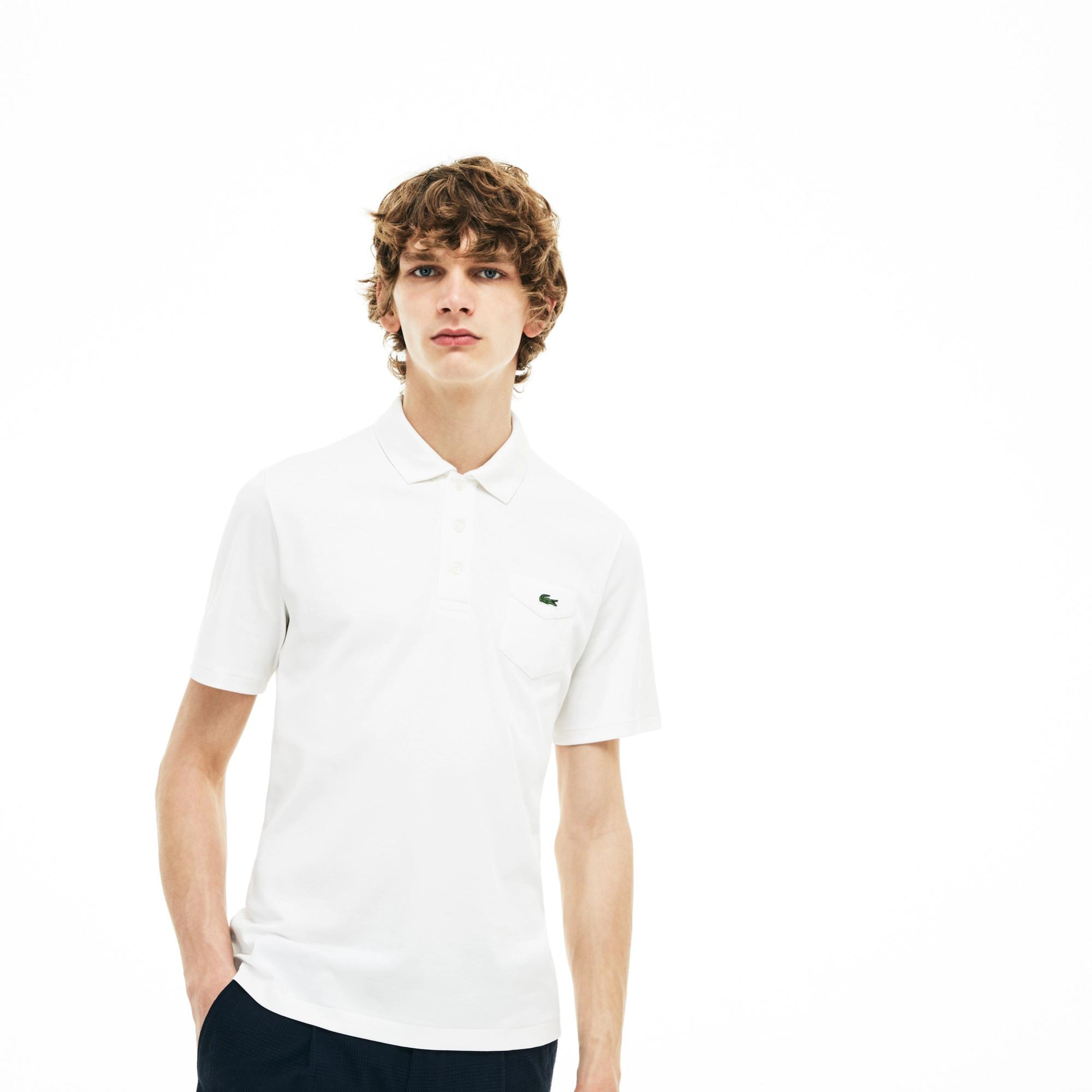 Lacoste Unisex 1930s Revival Lacoste 85th Anniversary Limited Edition Interlock Polo Shirt