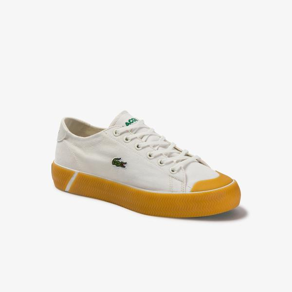 Lacoste Women's Gripshot Canvas And Synthetic Sneakers