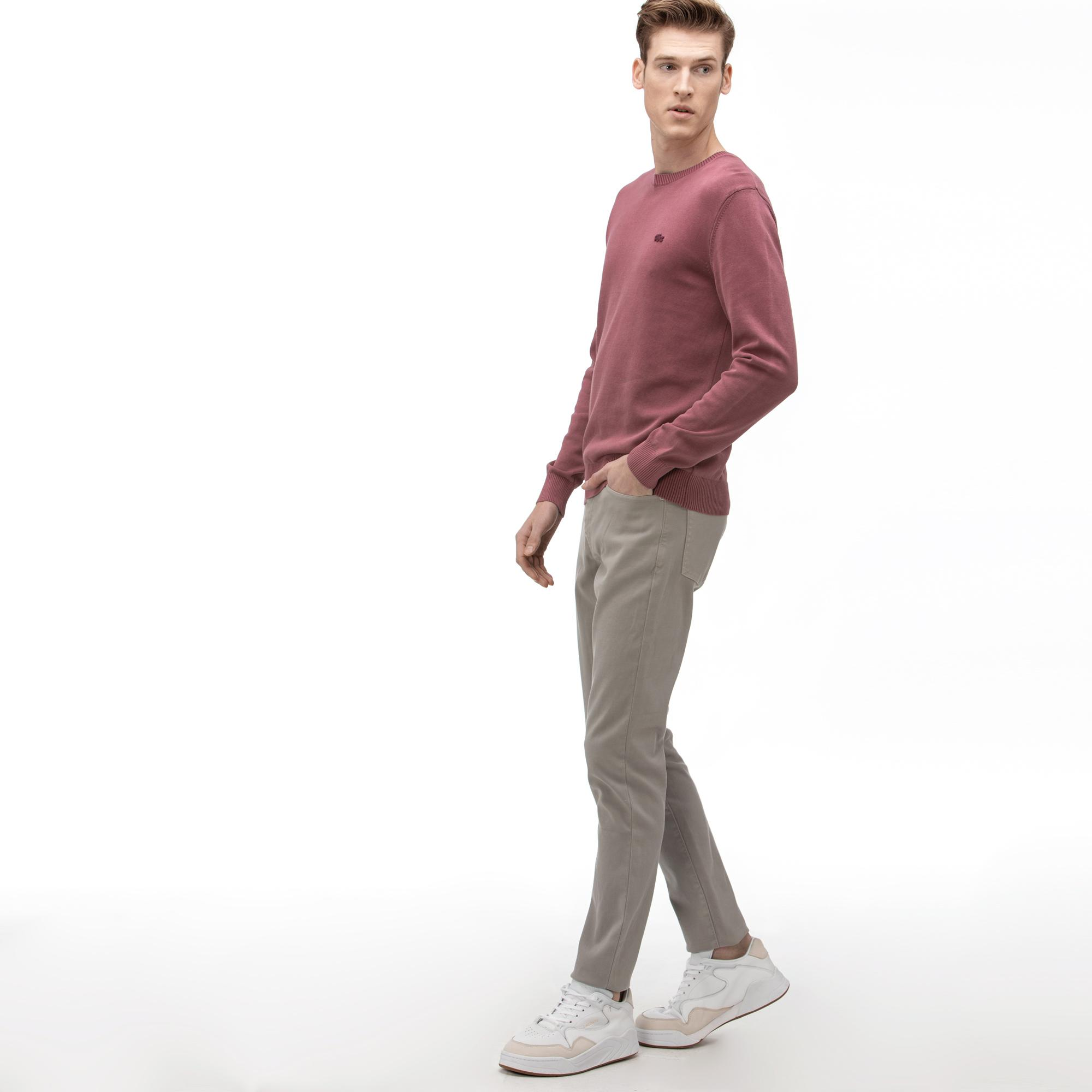 Lacoste Men's Slim Fit 5-Pocket Stretch Cotton Pants