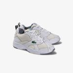 Lacoste Men's Storm 96 Leather And Textile Sneakers
