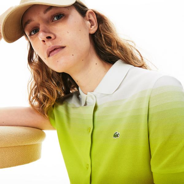 Lacoste Women's Made in France Cotton Piqué Polo Dress