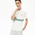 Lacoste Men's Stripe Print Polo Shirt