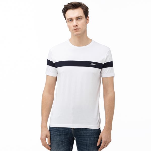 Lacoste Men's Round Neck Striped T-Shirt