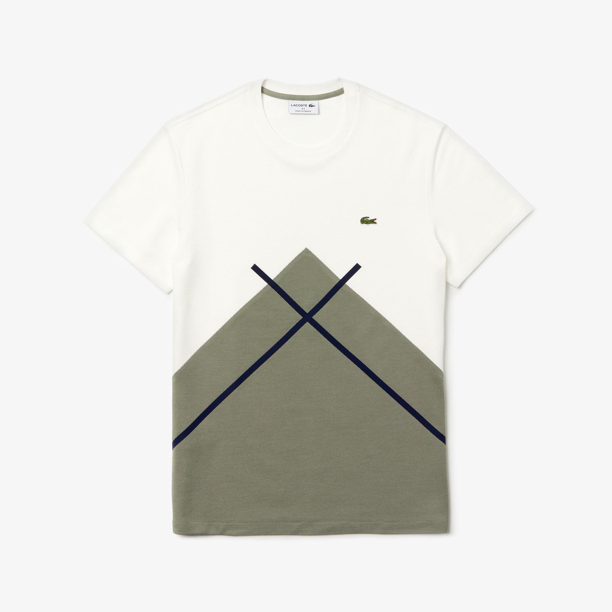 Lacoste футболка чоловіча Made In France з круглим вирізом