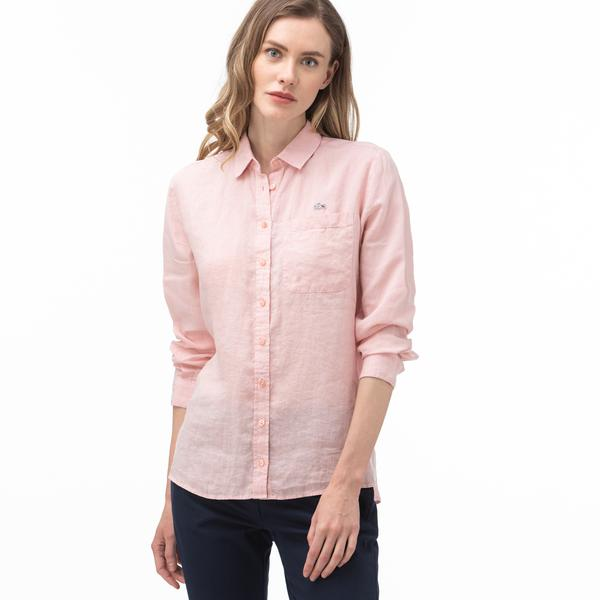 Lacoste Women's Linen Shirt