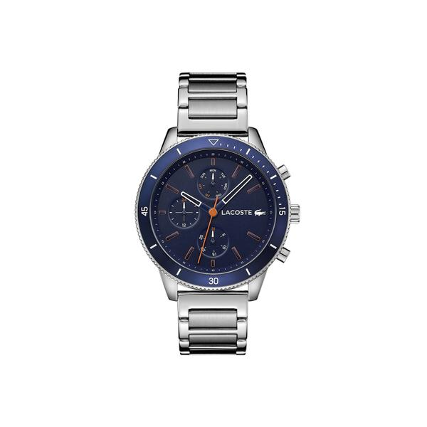 Lacoste Men's Key West Watch with Stainless Steel Bracelet