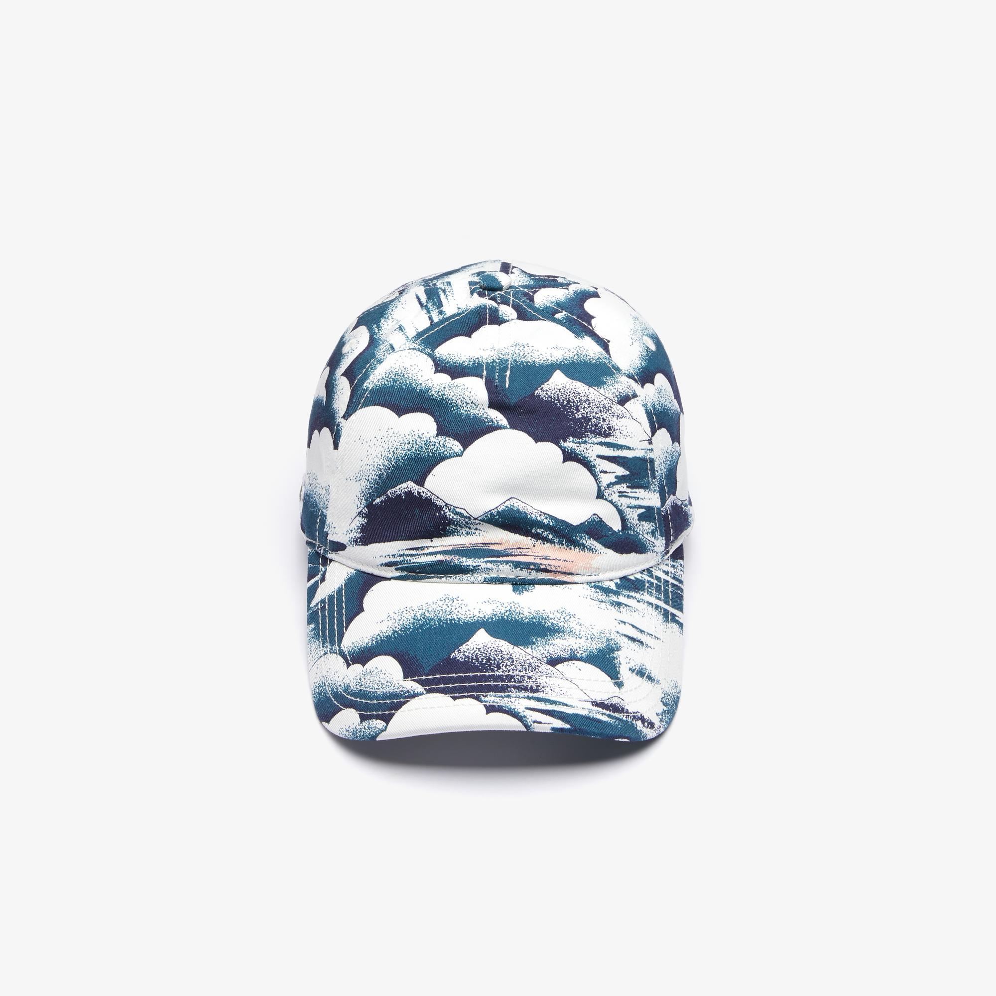 Lacoste Men's Print Cotton Cap